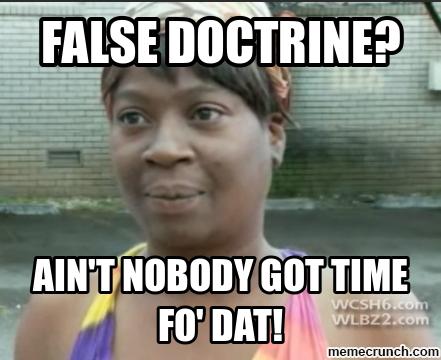 false-doctrine